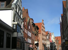 Am Stintmarkt in Lüneburg